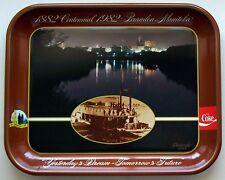 1882 - 1982 COCA COLA BRANDON MANITOBA 100TH CENTENNIAL COMMEMORATIVE TRAY NOS