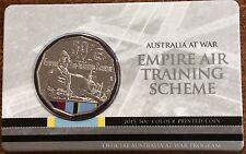 2015 RAM 50 cent UNC Coin - Australia at War - Empire air training scheme
