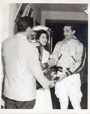 1953 Orig Photo Dictator RAFAEL L TRUJILLO Son General RAMFIS Polo Club Captain