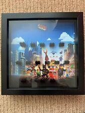 Lego Movie Mini figures Display Frame 3D Box