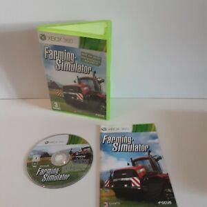 *Farming Simulator (Microsoft Xbox 360, 2013) Tractor Game