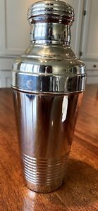 Vintage/Antique Stainless Steel Cocktail/Martini/Mock-tail Shaker l  Drink Mixer