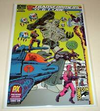 The TRANSFORMERS Vs. G.I. JOE # 1 Cover A  IDW Comic  SAN DIEGO VARIANT COVER