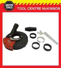 """HERZO 5"""" 125mm DUST EXTRACTION SHROUD FOR ANGLE GRINDER – SUIT MAKITA, BOSCH ETC"""