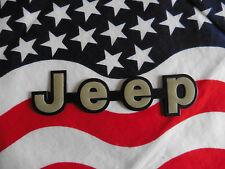 US Auto Car Emblem Schriftzug Schild Chrysler JEEP olive Typ Type Deko Deco USA