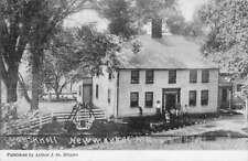 New Market New Hampshire Oak Knoll Street View Antique Postcard K90191