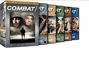 Combat! - World War 2 - The Complete Box DVD Series,  1,2,3,4,5 + Extras. New Ed