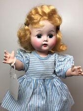 10.5� Vintage R&B Arranbee Littlest Angel Sl Straight Leg Walker Golden Blonde S