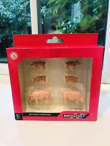 VINTAGE BRITAINS FARMYARD PIG FAMILY 🐷 PART NO 40966 • BOXED • BRAND NEW