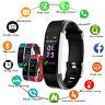 Montre intelligente bracelet connectée sport Podomètre cardiaque étanche Android