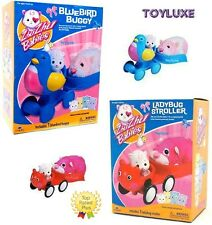Zhu Zhu Babies Hamster BLUEBIRD BUGGY LADYBUG STROLLER Play Set Add On Ride Toy