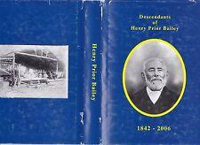 DESCENDANTS of HENRY PRIOR BAILEY western australia genealogy family history