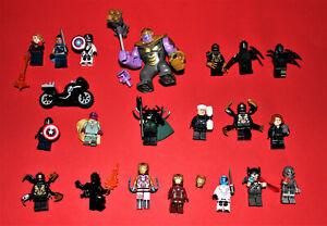 Konvolut  Lego Marvel Super Heroes Figuren und Zubehör