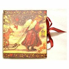 Christmas Angel Personal Photo Album Family Memories Gift Book Sled Deer