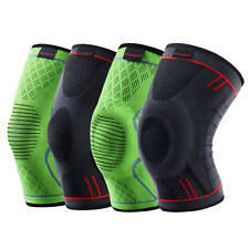 Kuangmi Knee Compression Sleeve Support Brace pad Anti Slip Pain Relief guard 1X