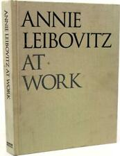 Anne Leibovitz At Work - Signed First Edition