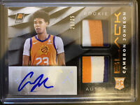 2019-20 Panini BLACK Cameron Johnson RPA /25 Rookie Dual Patch Auto Phoenix Suns