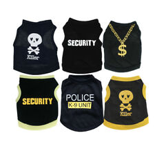 Pet Puppy Dog Boy Clothes Vest Apparel For Extra Small to Medium Size Dog Yorkie