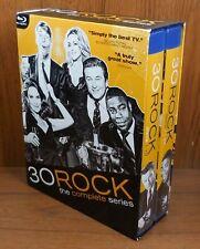 30 Rock The Complete Series (Blu Ray, 20-Disc, 2020) Seasons 1 2 3 4 5 6 7