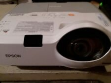 Epson PowerLite 420 H447A Ultra Short Throw Projector w REMOTE 687 hours used