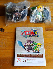 Nintendo mini figurine Zelda Spirit Tracks Link & Phantom Spectre Figure NEUVE