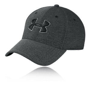 Under Armour Unisex Heathered Blitzing 3.0 Running Cap Black Sports Breathable