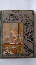 Collectible Rare Book Alice Through The Looking Glass Lewis Carroll