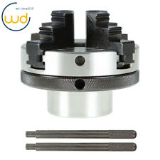 3 Inch 4 Jaw Chuck Fit For All Wood Lathes With 1 Inch By 8 Tpi Spindles