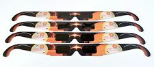 Eclipse glasses 4 pack - High quality solar viewing glasses, Lunt Solar Systems