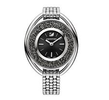 Swarovski 5181664 Crystalline Oval Black Brac Watch, Swiss Made RRP $549
