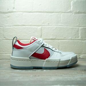 Nike Dunk Low Disrupt Red CK6654 101 Size UK 6 EU 40 US 8.5