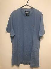 Camiseta Deportiva Azul Barbour tamaño M mediano a medida con nuevo regalo de Navidad