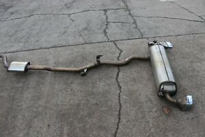 BMW 5 SERIES G30 COMPLETE M SPORT EXHAUST SYSTEM EXHAUST BOX 8637728
