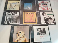 Lot of Vintage 8 Depeche Mode Maxi-Singles in J-Card Jewel Cases