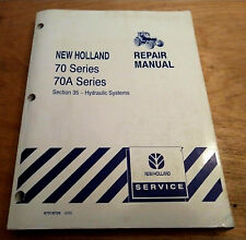 Ford New Holland 8670 8770A 8870 8870A 8870A 8970 8970A Hydraulic Repair Manual