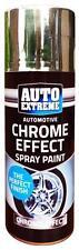 Automotive Chrome Effect Auto Spray Paint Foil Mirror Metallic DIY Car Van 200ml
