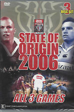NRL - State Of Origin: 2006 - All 3 Games (3 DVD Set)