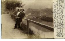 1914 timbro Aquisgrana a/della. foto-AK innamorati coppia vecchia cartolina vista KART