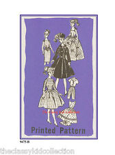 Vintage Pattern For Barbie Fashion dolls - #9475