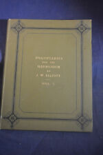 Ca 1877 *NEAR MINT* Voluntaries for the Harmonium by JW Elliott