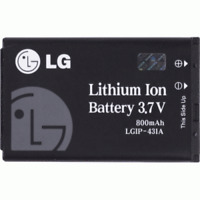 🔋 TRACFONE LG 600G Replacement OEM 3.7V 800mAh Lithium Ion Battery LGIP-431A