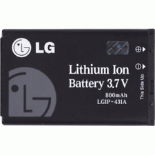 TRACFONE LG 600G New Replacement  OEM 3.7V 800mAh Lithium Ion Battery LGIP-431A