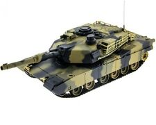 1:24 US M1A2 Abrams RC Battle Tank Radio Remote Control Airsoft New