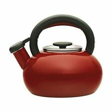 Prestige Whistling Stove Top Kettle - Red 46245