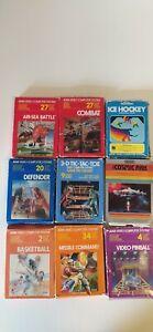 Atari 2600 spielesammlung OVP u. Anleitung