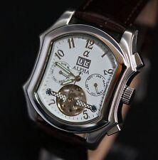 Alpha expose Escapement men's watch 23 jewels automatic movement 125-2L27 New