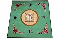 Western Mahjong / Paigow / Card / Game Table Cover Mah jongg Mahjongg Mat Green