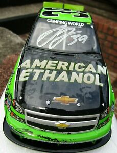 Austin Dillon autographed #39 AMERICAN ETHANOL '13 Silverado 1:24 diecast - NEW