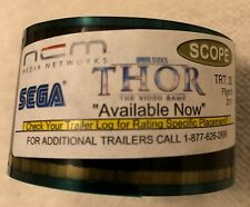"THOR THE VIDEO GAME ""AVAILABLE NOW"" 35MM FILM AD SCOPE MARVEL STUDIOS SEGA 2011"