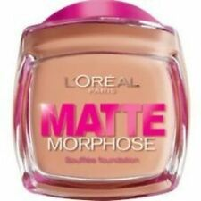 L 'Oreal Mate Morphose Foundation 3x -! nuevo! Color Ámbar De 310